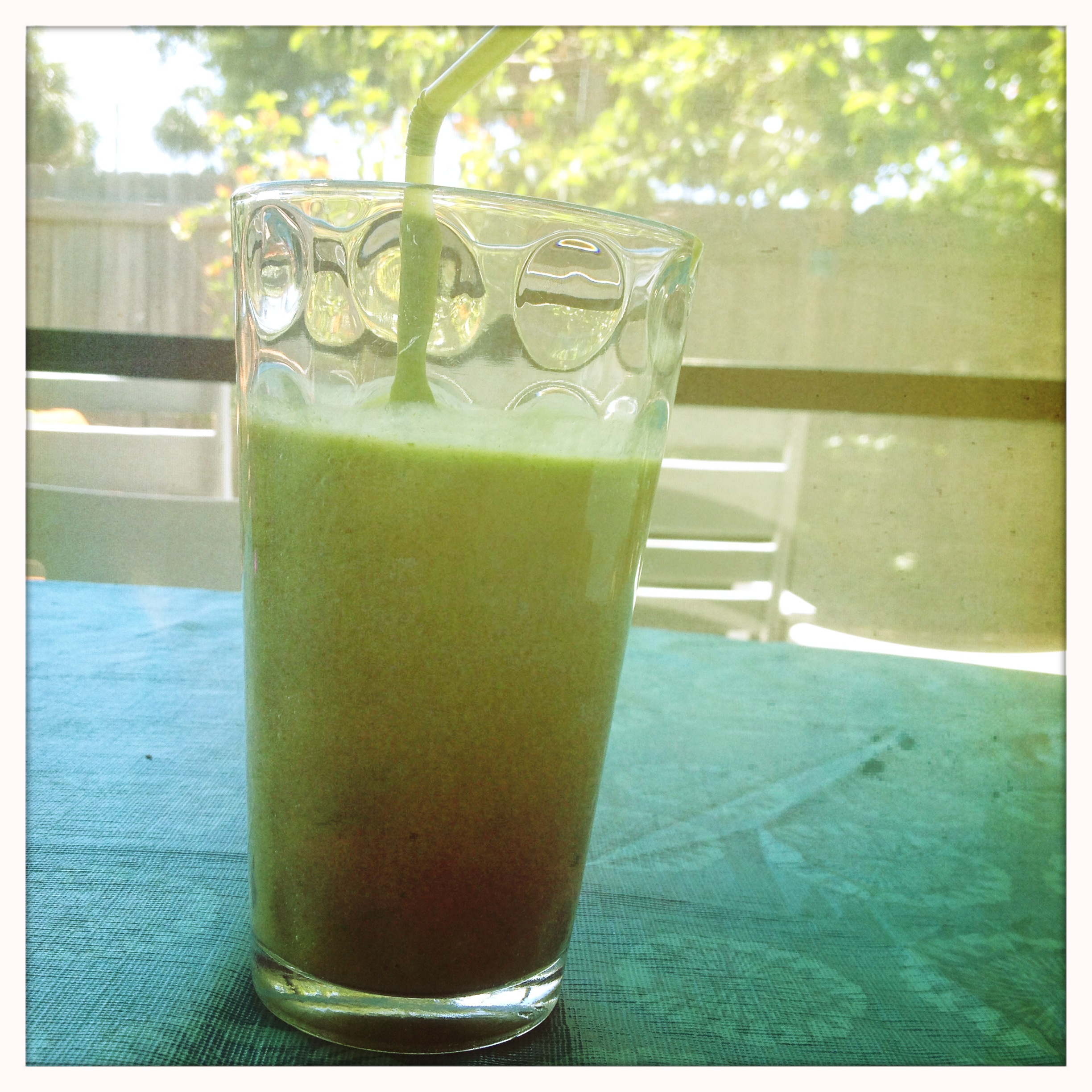 ice cold smoothie to cool things down now before you